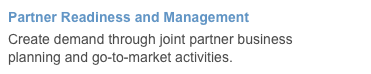 Partner Readiness and Management