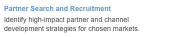 Partner Search and Recruitment
